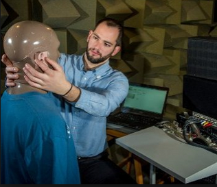 Researcher Develops TV Sound System for Hearing Impaired