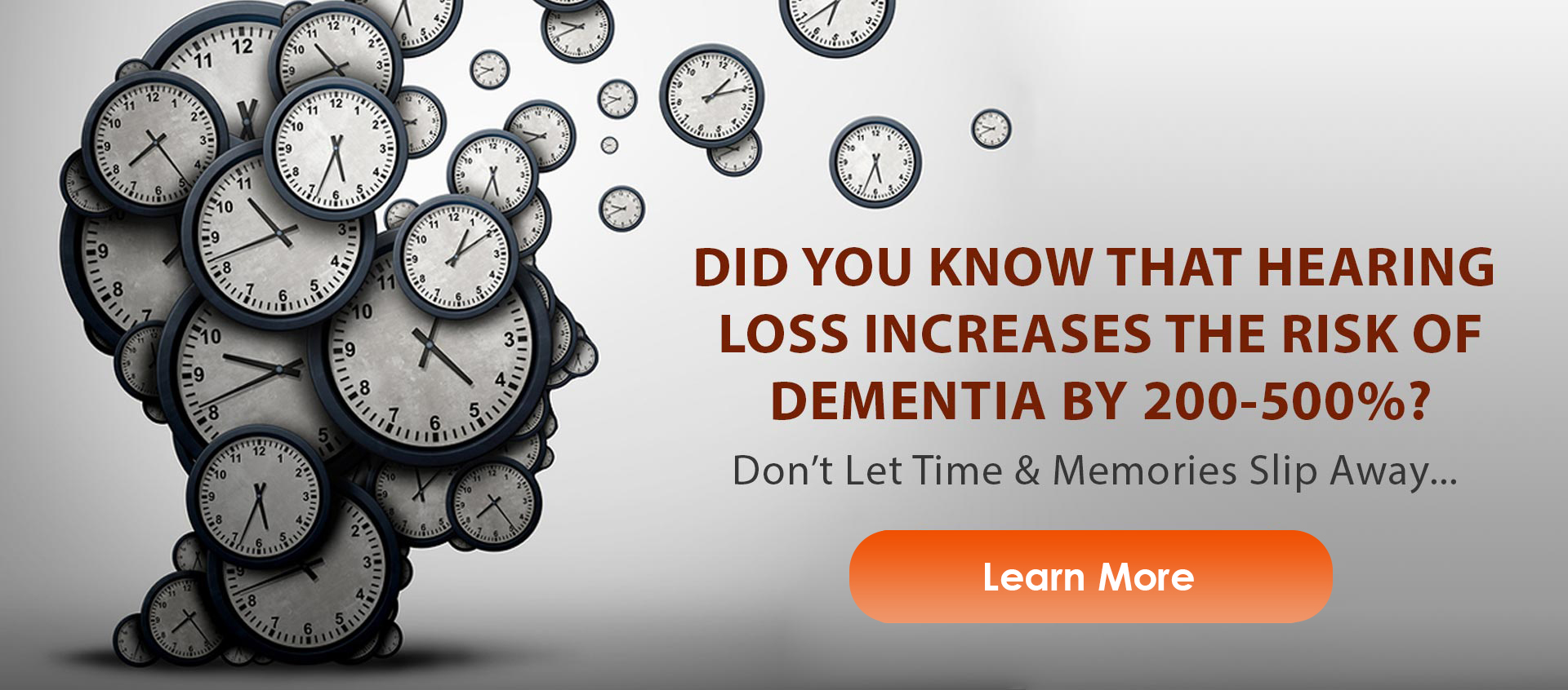 hearing loss increases dementia