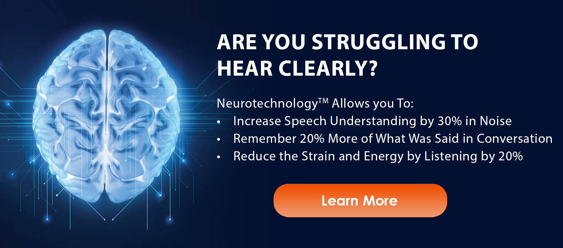 hearing aid with neurotechnology